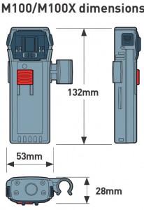 M100 Dimensions