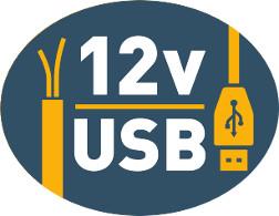 Se suministra con cables de alimentación y USB