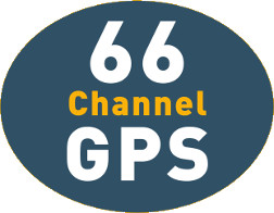 66 channel GPS for fast accurate positioning